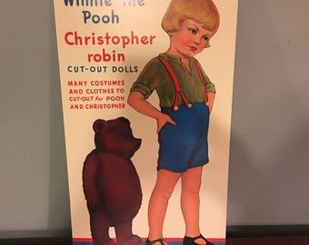 Winnie the Pooh Paper Doll Book