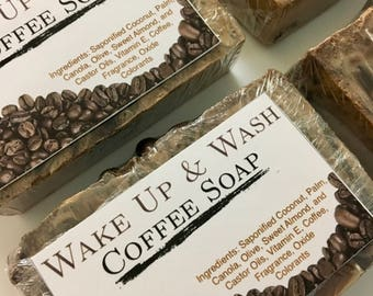 Wake Up & Wash Coffee Soap