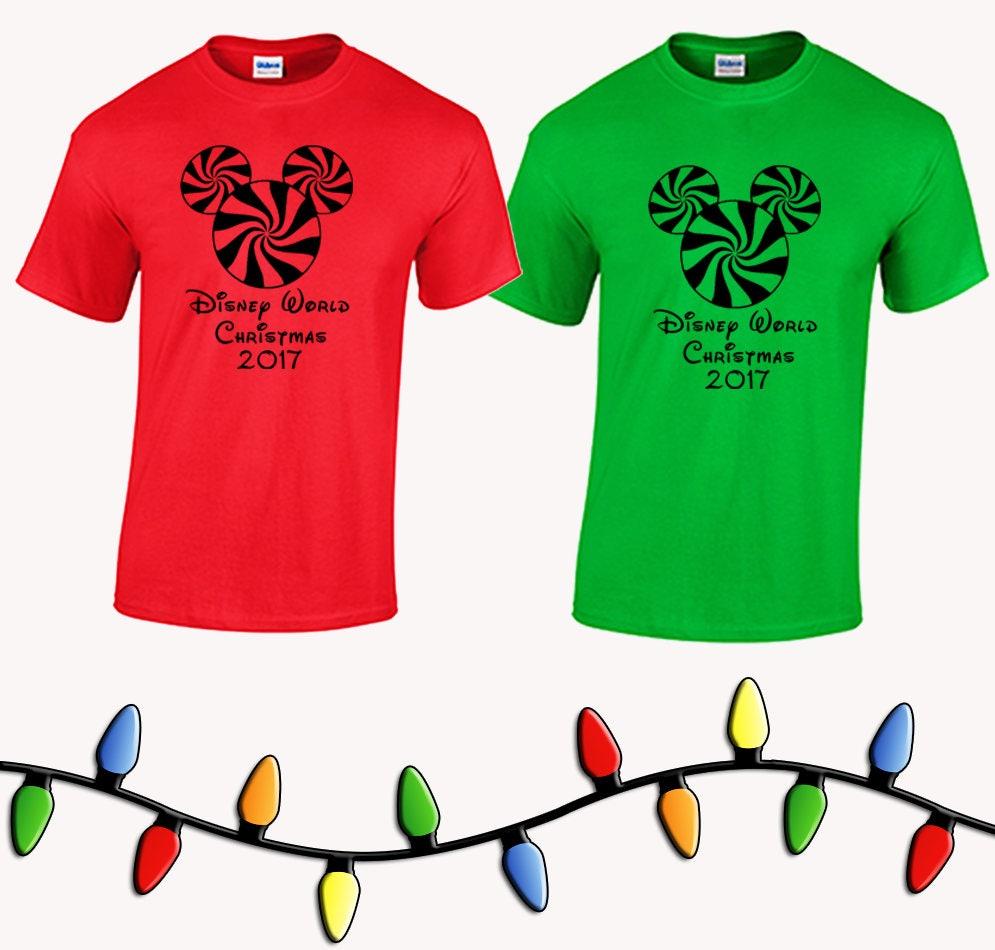 walt disney world christmas family vacation tee shirts disneyworld magic kingdom epcot animal kingdom hollywood studios