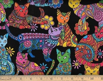 Colorful Cats, Timeless Treasures,