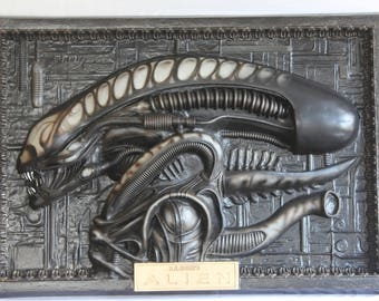 Alien Panel HR Giger lifesize panel