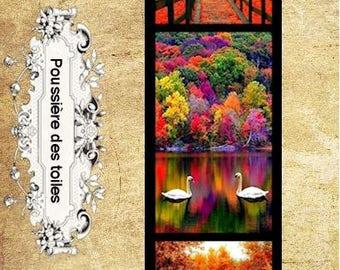 Autumn bookmark