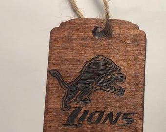 Detroit Lions Ornament
