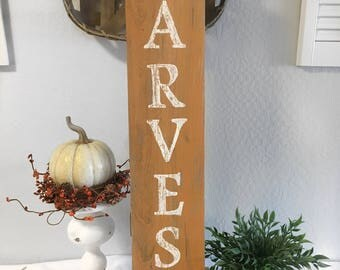 Harvest Sign - Harvest Decor - Rustic Decor - Rustic Wall Decor - Rustic Sign - Rustic Harvest Sign