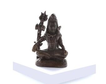 Miniature Brass Shiva