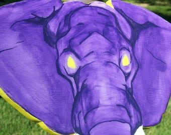 Elephant Resin Wood Art