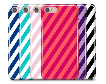 iPhone Case, iPhone 7 Case, iPhone 7 Plus Case, iPhone 6S Case, iPhone 6, Samsung Galaxy Case, Galaxy S8 Case, S8+ case, Diagonal Stripe