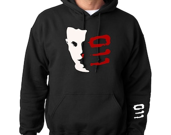 Eleven 011  Heavy Blend Adult or Youth Hooded Sweatshirt