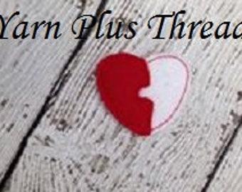 Heart Feltie Embroidery Design