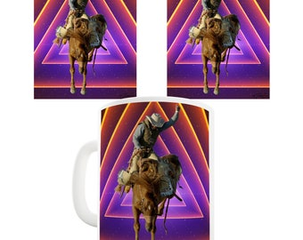 Space Cowboy Ceramic Mug