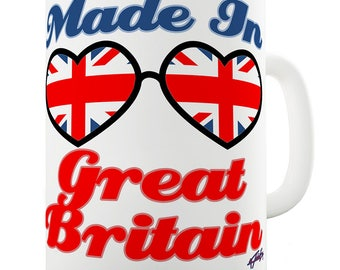Made In Great Britain Ceramic Mug