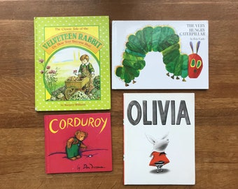 Collection of 4 Used Classic Children's Books