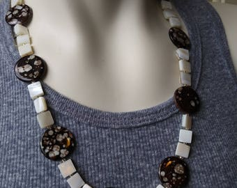Amber and Pearl Shells