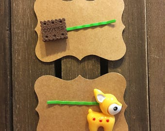 Kawaii Bobby Pin Set, Bobby Pin Set