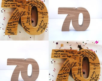 Wooden numbers, birthday numbers, personalised birthday gifts, special birthday keepsakes 18th 21st 30th 40th 50th 60th 70th 80th 90th 100th