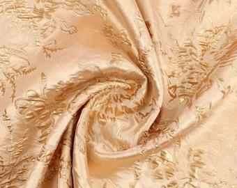 Gold brocade Haute Couture