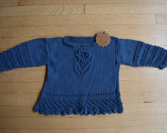 Blue top for two years old
