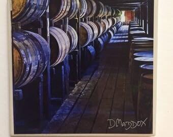 Bourbon Barrels Rick House Coaster
