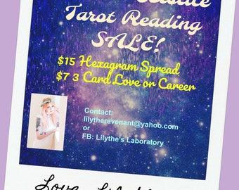 Tarot Reading Sale! Litha Summer Solstice until Lammas (Aug 1)