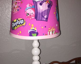 Shopkins lamp.