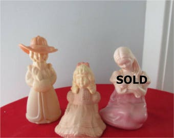 Avon Collectible Bottles  Little Kate ,  Percious Priscilla    with cologne  675