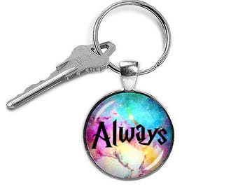 Always Keychain Always Keyring Fandom Fangirl Fanboy Key Ring