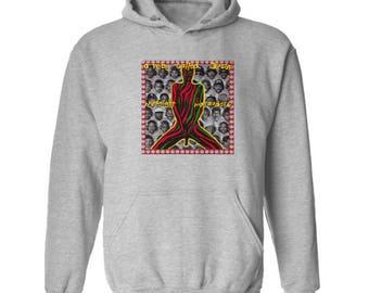 A Tribe Called Quest Midnight Marauders Hoodie Classic Vintage Style Hip Hop Fleece Sweatshirt Rap Merch East Coast Rappers New