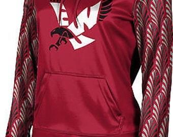 ProSphere Girls' Eastern Washington University Deco Pullover Hoodie (EWU)