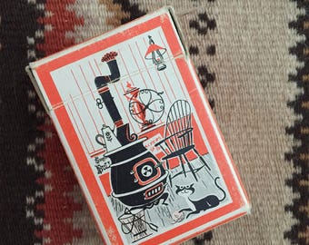 Vintage Tom Thumb Junior Size Playing Cards - Miniature Card Deck