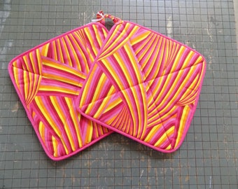 Psychedelic Hot Pad Set