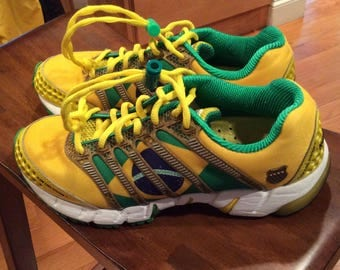 Cycling Shoes - K-Swiss Limited Edition - Bright Yellow -Unisex - Men US8/EU41- small