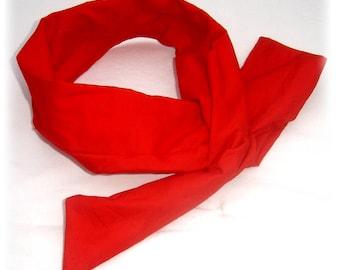Headband * headband * headband * red plain, flexible wire
