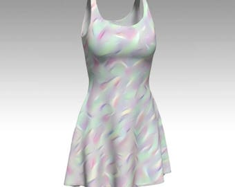 Unicorn Dress, Opal Dress, Cosplay Dress, Magical Print, Flare Dress, Skater Dress, Bodycon Dress, Fitted Dress, Pretty Dress, Cute Dress