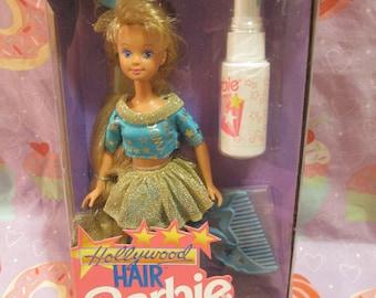 20% OFF! 1992 Hollywood Hair Barbie Skipper In Box