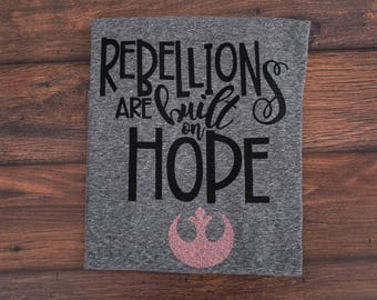 Star Wars Rebel Alliance Shirt; Women's/Kids Shirt