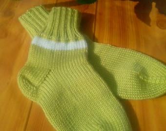 Knitted Baby Socks,baby socks, child knit socks, Cute baby socks.