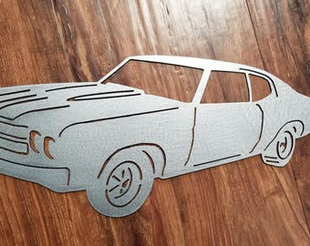 1970 Chevelle Metal Art