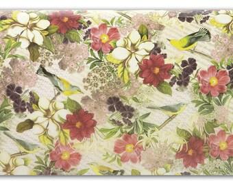 Tissue Paper, Tissue Paper, Botanic   Tissue Paper, 10 large sheets