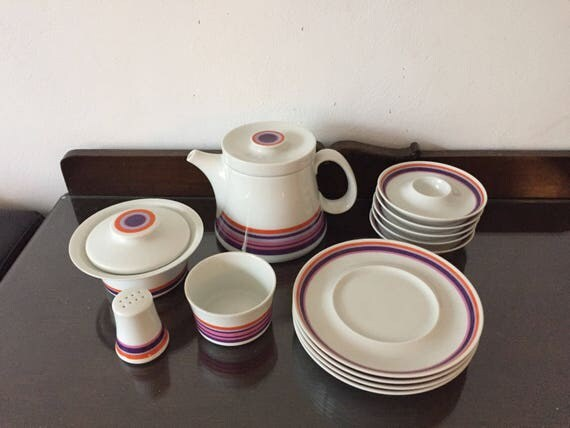vintage german coffee set Schonwald
