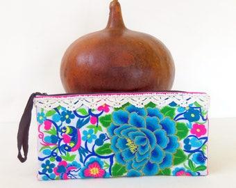 Handbag, Wristlet Bag, Pencil Case, Clutch Bag, Evening Bag, Coins Purse, Pouch Bag, Ethnic Bag, Hippie, Boho Bag, Cosmetic Bag, Toilet bag.