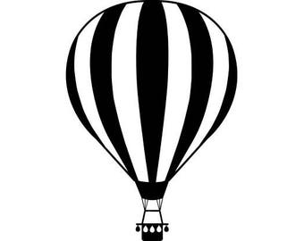 Hot Air Balloon Png Etsy