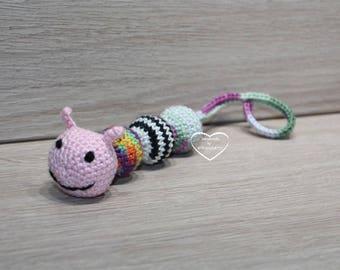 Cat toys Caterpillar with bells