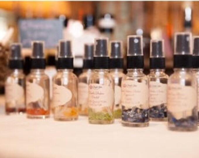 Chakra Healing Essential Oil Crystal Elixir