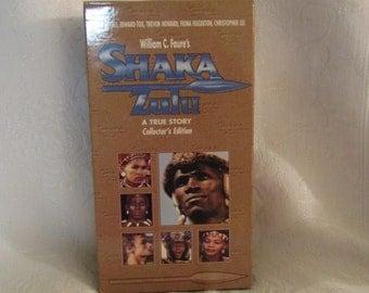 """VHS Collector's Edition """"Shaka Zulu"""""""