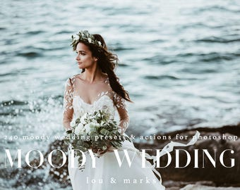 240+ Moody Wedding Photoshop Kit for Professional Moody Wedding Editing Results in Photoshop