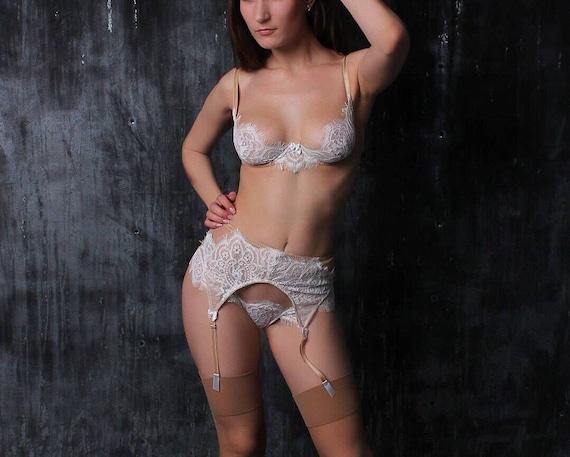 Wedding undergarments white wedding lingerie wedding day like this item junglespirit Image collections