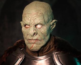 Leader Orc Mask - Green - LARP