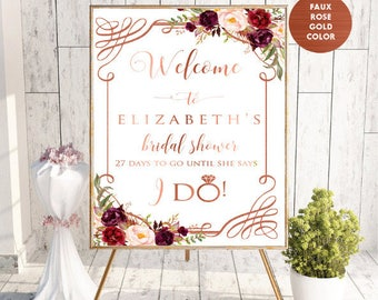 Welcome Sign,Welcome Bridal Shower Sign,Bridal Shower Decor,Bridal Shower Welcome Sign,Bridal Shower Sign,Printable Bridal Shower Sign,#LC