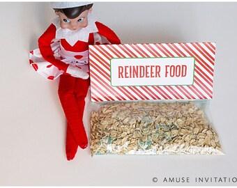 Reindeer Food, Fun Christmas Project, Christmas Elf Accessories, Santa's Elf Prop, Elf Printable, Christmas Elf Ideas, Easy Elf Ideas