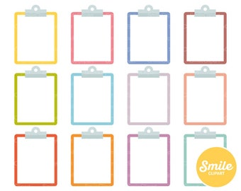Clipboard Clipart Illustration for Commercial Use | 0410